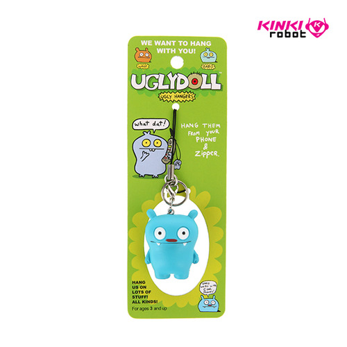 UGLYDOLL FIGURE ZIPPER PULLS_BIG TOE