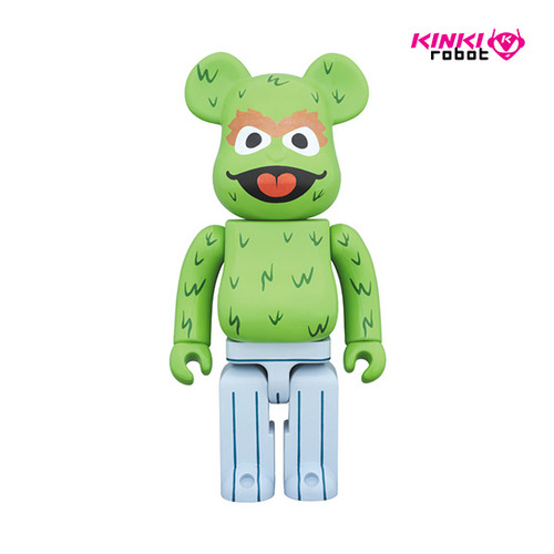 400%BEARBRICK OSCAR THE GROUCH