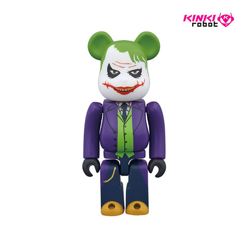 100%BEARBRICK THE JOKER LAUGHING VER