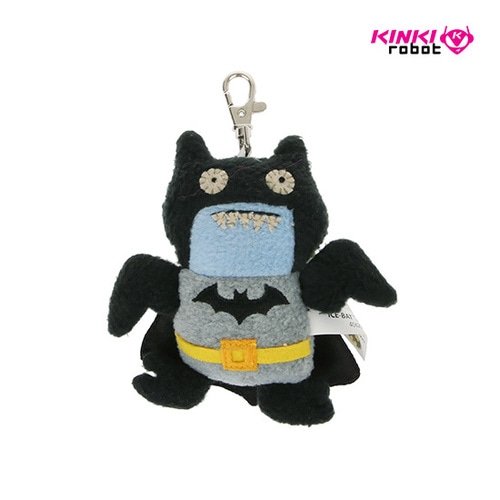 CLIP ON_DC BATMAN ICE BAT BLACK