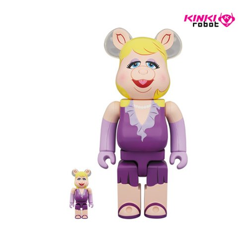 400%+100%BEARBRICK MISS PIGGY (프리오더)