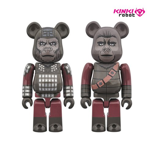 100%, 400%, 1000% BEARBRICK GENERAL URSUS & SOLDIER APE (프리오더)
