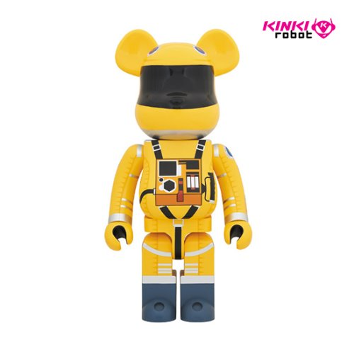 400%+100%, 1000% BEARBRICK Space Suit Yellow Ver (프리오더)