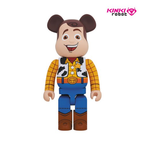 1000%BEARBRICK WOODY(프리오더)