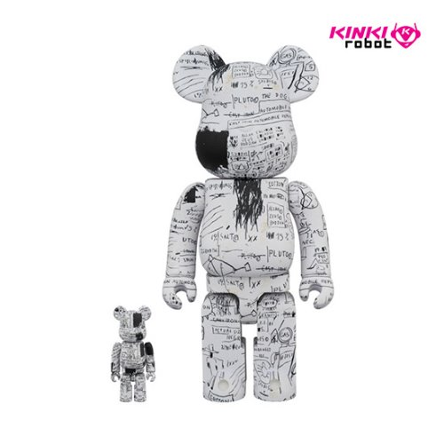 400%+100%, 1000%BEARBRICK JEAN MICHEL BASQUIAT #3(프리오더)