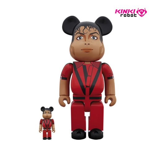 400%+100%, 1000%BEARBRICK MICHAEL JACKSON RED JACKET (프리오더)