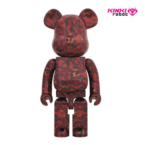 1000%BEARBRICK MIKA NINAGAWA LEATHER ROSE