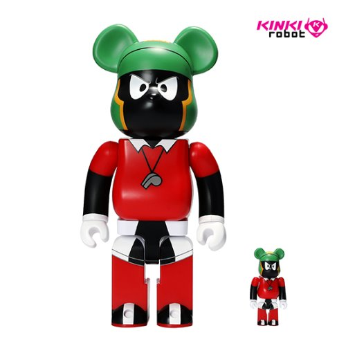 400%+100%BEARBRICK MARVIN THE MARTIAN