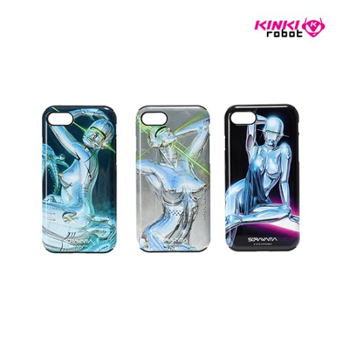 SORAYAMA MOBILE CASE FOR IPHONE 7/8_SEXY ROBOT 1, 2, 3
