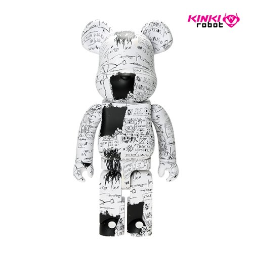 1000%BEARBRICK JEAN MICHEL BASQUIAT #3