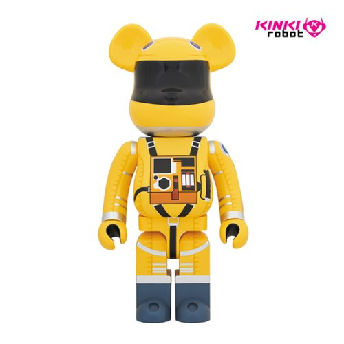 1000%BEARBRICK SPACE SUIT YELLOW VER