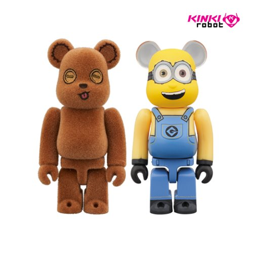 100%BEARBRICK TIM&BOB 2PACK(프리오더)