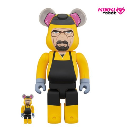 400%+100%BEARBRICK WALTER WHITE(프리오더)