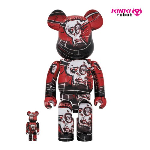 400%+100%, 1000%BEARBRICK JEAN MICHEL BASQUIAT #5 (프리오더)