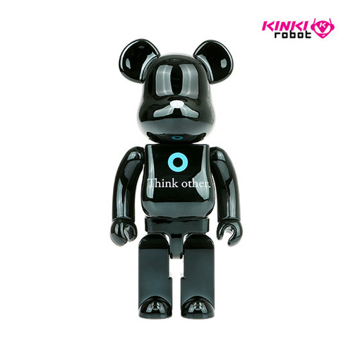 400%BEARBRICK I AM OTHER BLACK VER