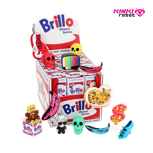 WARHOL BRILLO BOX MINI SERIES (단품)