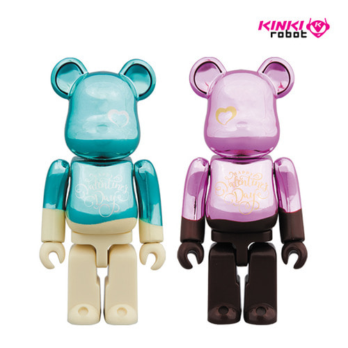 100%BEARBRICK VALENTINE 2018 SET