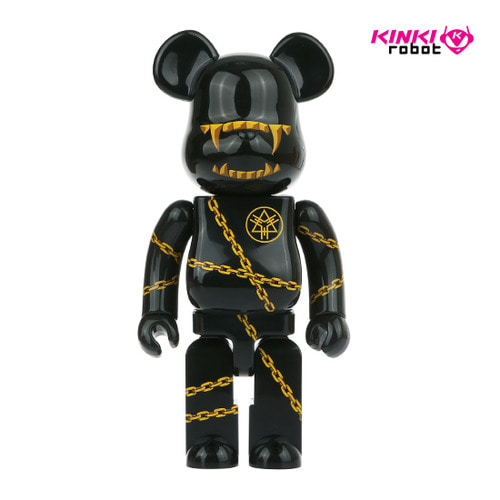 400%BEARBRICK MISHKA x LONG