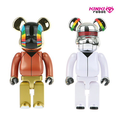400%BEARBRICK DAFTPUNK DISCOVERY VER 2PACK