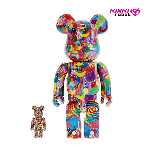 400%+100%BEARBRICK DYLAN'S CANDY BAR