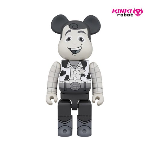 400%BEARBRICK WOODY B&W(프리오더)