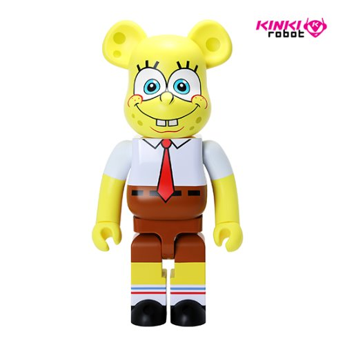 1000%BEARBRICK SPONGEBOB
