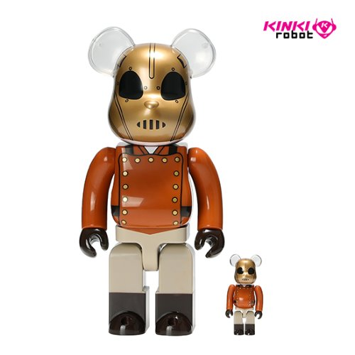 400%+100%BEARBRICK THE ROCKETEER