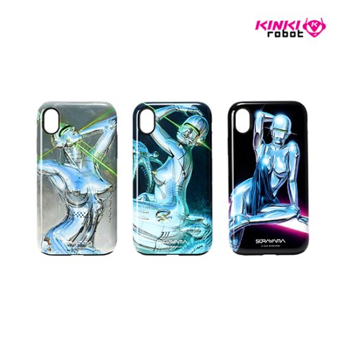SORAYAMA MOBILE CASE FOR IPHONE XR_SEXY ROBOT 1, 2, 3