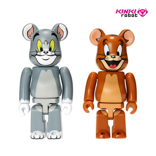 100%BEARBRICK TOM AND JERRY 2PACK