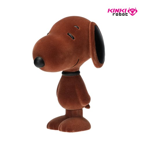 SNOOPY FLOCKED VINYL FIGURE CINNAMON
