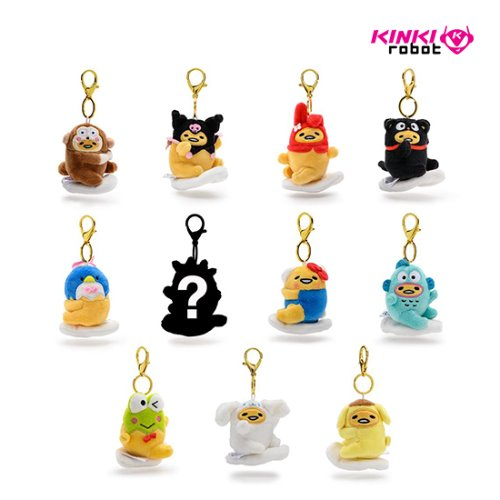 GUDETAMA EGGSTRA CUTE PLUSH CHARMS(단품)