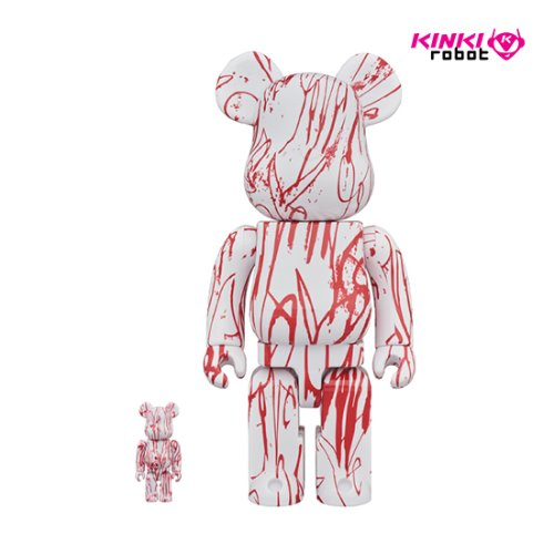 400%&100%BEARBRICK LOVE ME(프리오더)