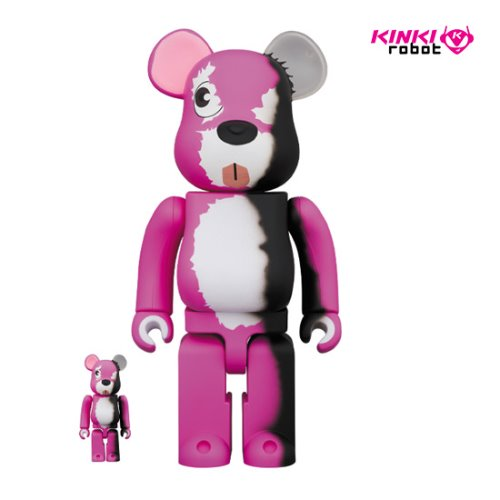 400%+100%BEARBRICK PINK BEAR(프리오더)
